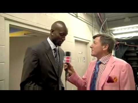 Kevin Garnett Tells Craig Sager To Burn His Suit As Soon As He Gets Home (2/15/09)