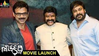 Gauthamiputra Satakarni Movie Launch | Balakrishna, Krish | Sri Balaji Video - SRIBALAJIMOVIES