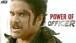 Power Of Officer | Nagarjuna | RGV | Myra Sareen | Ram Gopal Varma | #OfficerReportingOnJune1st - RGV