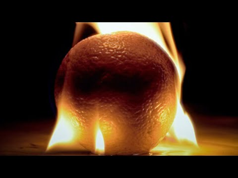 How to make fire using only a Orange