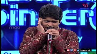 Super Singer 8 Episode 16 - Rithesh Performance - MAAMUSIC