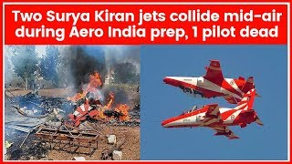 IAF Surya Kiran jet crash in Bengaluru: Fourth accident in 4 weeks, who is to blame? - NEWSXLIVE