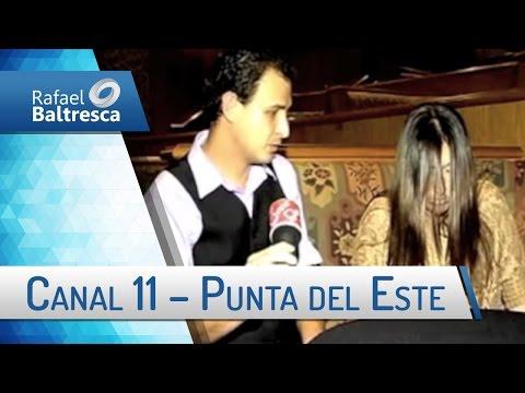 Entrevista de Rafael Baltresca ao canal 11 de Punta del Este