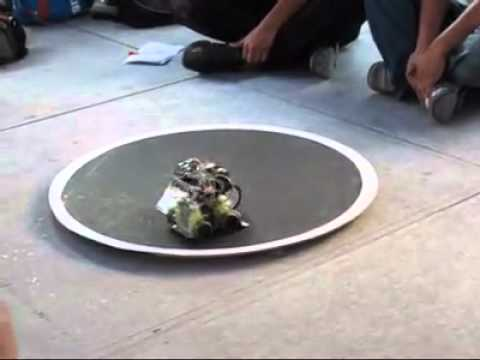 FINAL DE ROBOT MINI SUMO FACULTAD DE CIENCIAS 2011