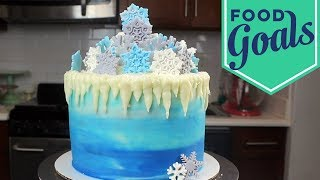 How to Make a Winter Wonderland Cake | Food Network - FOODNETWORKTV