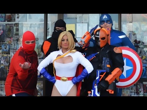 Power Girl And Friends Save Free Comic Book Day