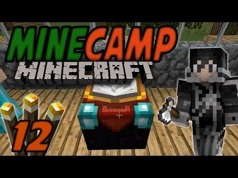 ENCHANTING TABLE! | MineCamp #12 | mit baastiZockt