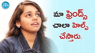 My Friends Are Very Helpful To Me - Shanmukha Priya || Talking Movies With iDream - IDREAMMOVIES