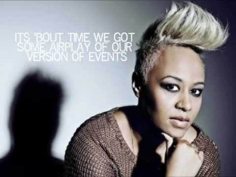 Emeli Sand Read All About It pt III Lyrics On Screen 