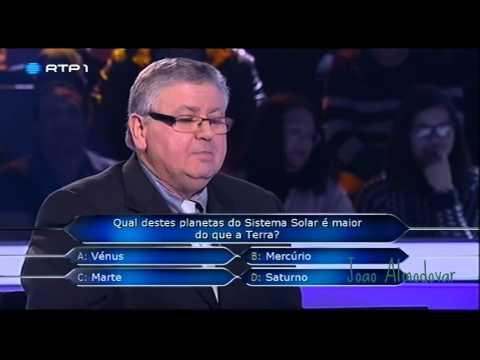 Quem quer ser Milionario 'Jorge Cunha, Orgulhoso Portugues' - 08.04.2014 - Parte 1