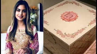 See 3 Lakh Wedding Card of Ambani's Daughter Isha Ambani; शादी के कार्ड की कीमत 3 लाख - ITVNEWSINDIA