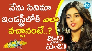 Siddhi Idnani About Her Journey To Film Industry || Anchor Komali Tho Kaburulu - IDREAMMOVIES
