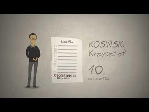 Krzysztof Kosiński PSL
