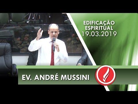 Ev. André Mussini | Jesus está na casa | Mc 2.1-12 | 19 03 2019