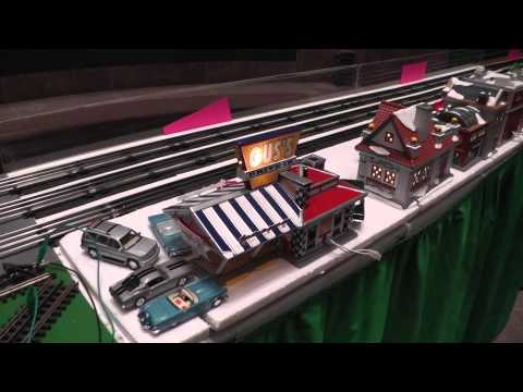 "National Capital Trackers Model Railroad at ""Celebrate Fairfax"", 2014"