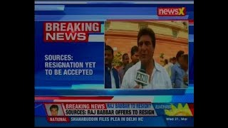 Raj Babbar offers to resign as Congress UP President, says sources - NEWSXLIVE