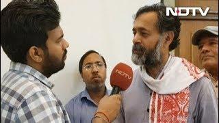 योगेंद्र यादव ने लोगों से की चुनाव में नोटा दबाने की अपील - NDTVINDIA