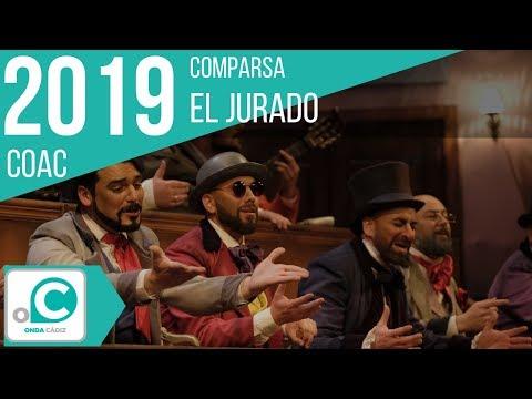 La agrupación El jurado llega al COAC 2019 en la modalidad de Comparsas. Primera actuación de la agrupación para esta modalidad.