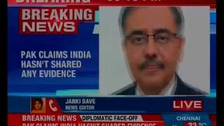 Exposed Pakistan's desperate tactics; claims India hasn't shared any evidence - NEWSXLIVE