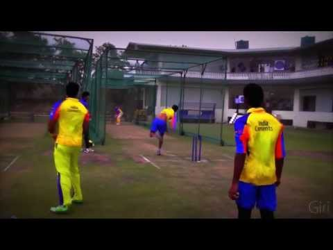 Practice and Storm - Jaipur - CSK - IPL 2013
