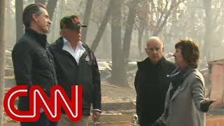 Trump tours fire-ravaged town: We'll get it taken care of - CNN