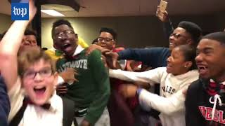 Louisiana school films the moment every senior gets accepted into college - WASHINGTONPOST