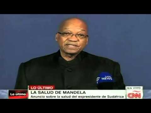 Muere Nelson Mandela a los 95 años