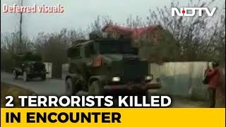 2 Hizbul Terrorists Shot Dead In Encounter In Jammu And Kashmir's Pulwama - NDTV
