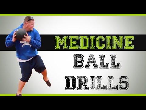 Medicine Ball Drills for Baseball
