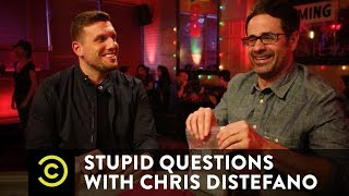 Which of His Parents Would Yannis Pappas Rather Sext? - Stupid Questions with Chris Distefano - COMEDYCENTRAL