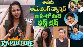 RAPID FIRE - Pujitha Ponnada about Pawan Kalyan, Jr NTR, Allu Arjun, Mahesh Babu, Prabhas, Samantha - IGTELUGU