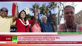 Tulsi Gabbard presents bill to stop Trump from pulling out of INF - RUSSIATODAY