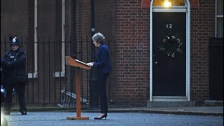 Theresa May holds a news conference - WASHINGTONPOST