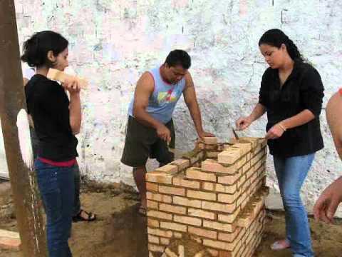 Construção do forno