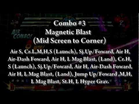 MvC3 Magneto Combo/Hyper Grav Setups Tutorial