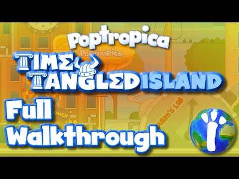 ★ Poptropica Time Tangled FULL Walkthrough ★