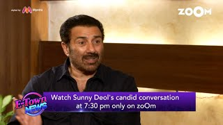 Watch Sunny Deol's candid conversation at 7.30 pm only on Zoom - ZOOMDEKHO