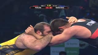 PWL 3 Day 6: Geno Petriashvili and Levan Verianidze at Pro Wrestling League 2018 | Highlights - ITVNEWSINDIA