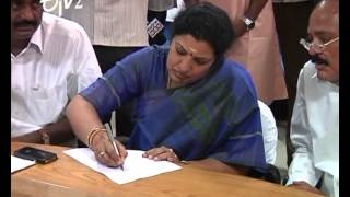 Purandeswari Files Nomination For Rajampet LokSabha - ETV2INDIA