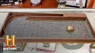 Pawn Stars: Parlor Bagatelle Table (Season 15) | History - HISTORYCHANNEL