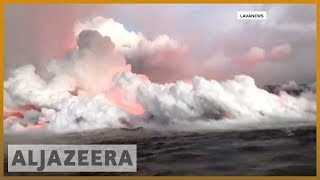 🌋 Hawaii: residents warned over Kilauea volcano fumes | Al Jazeera English - ALJAZEERAENGLISH