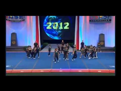 UTE (Ecuador) International Open Coed 6 Finals 2012 Cheer Worlds
