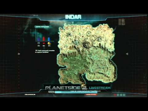 Planetside 2 E3 Stream - Day 2 - (feat. Totalbiscuit and Margaret Krohn)