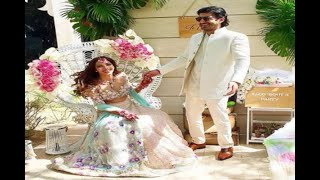In Graphics: Mohit Marwah's Wedding Celebrations Kicked off with Sangeet and Mehendi cer - ABPNEWSTV