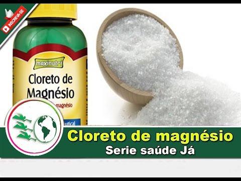 SAUDE JÁ - CLORETO DE MAGNESIO