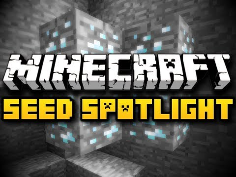 Minecraft Seed Spotlight #11 - SPAWN DIAMONDS! (HD)