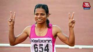 Interview with Dutee Chand | Asian Games 2014 | 100 Metree sprit | दुति चंद - AAJTAKTV