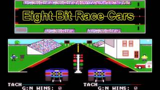 Royalty Free :Eight Bit Race Cars