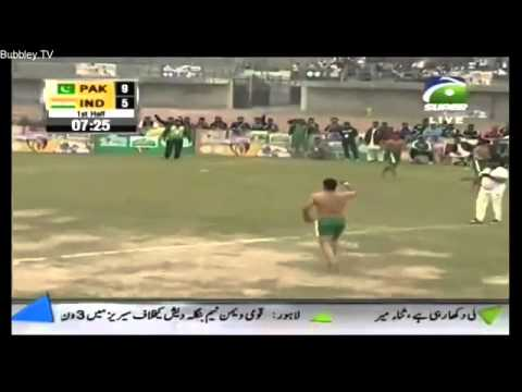 Kabdi match in lahore 2014 pak v India