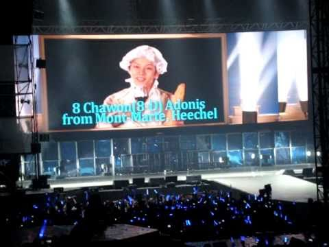 Super Junior SS3 Malaysia - Ment #1 (Members' Self Introduction)
